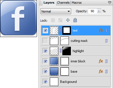 Finished Icon and PhotoPlus Layers