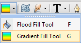 PhotoPlus Gradient Fill Tool