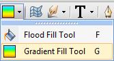 PhotoPlus Gradient Fill Tool