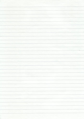 Free high res Lined Notepaper
