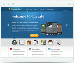 The Corporate Theme for WordPress
