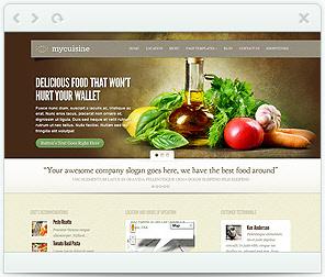 My Cuisine Theme for WordPress