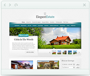 Elegant Estate - real estate WorPress Theme