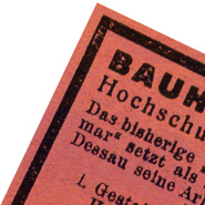 Design Inspiration Bauhaus