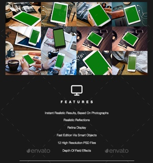iTouch Digital Mockups